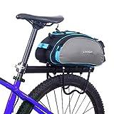 Lixada Fahrradtaschen Gepäckträger Wasserdicht Sitz Multifunktionale Tasche MTB Rennrad Rack Carrier 13L/25L