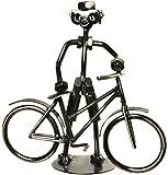 Deko Fahrrad Fahrradfahrer Schraubenmännchen